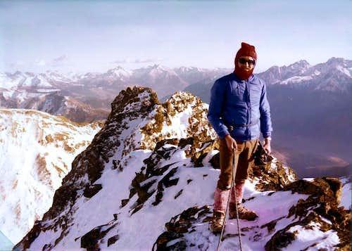 First Winter on Becchi di Fana, 29th, December 1974