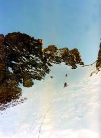 Becchi di Fana First Winter through Northern Gully 1974