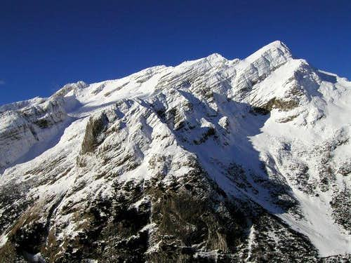 The whole ridge of Mojstrovke...