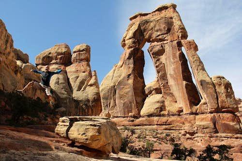 Druid Arch - Canyonlands