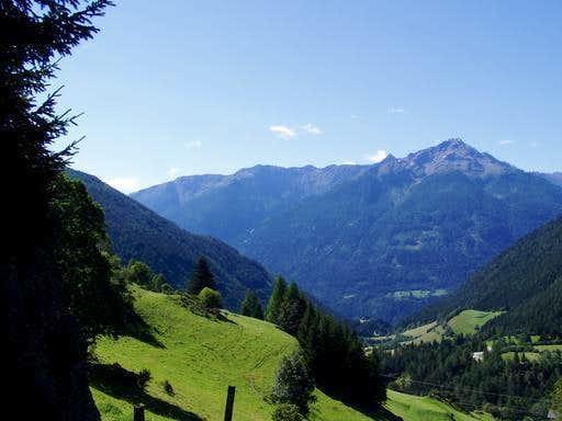 Polinik the highest summit of...
