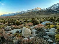 Owens Valley south at Last Light