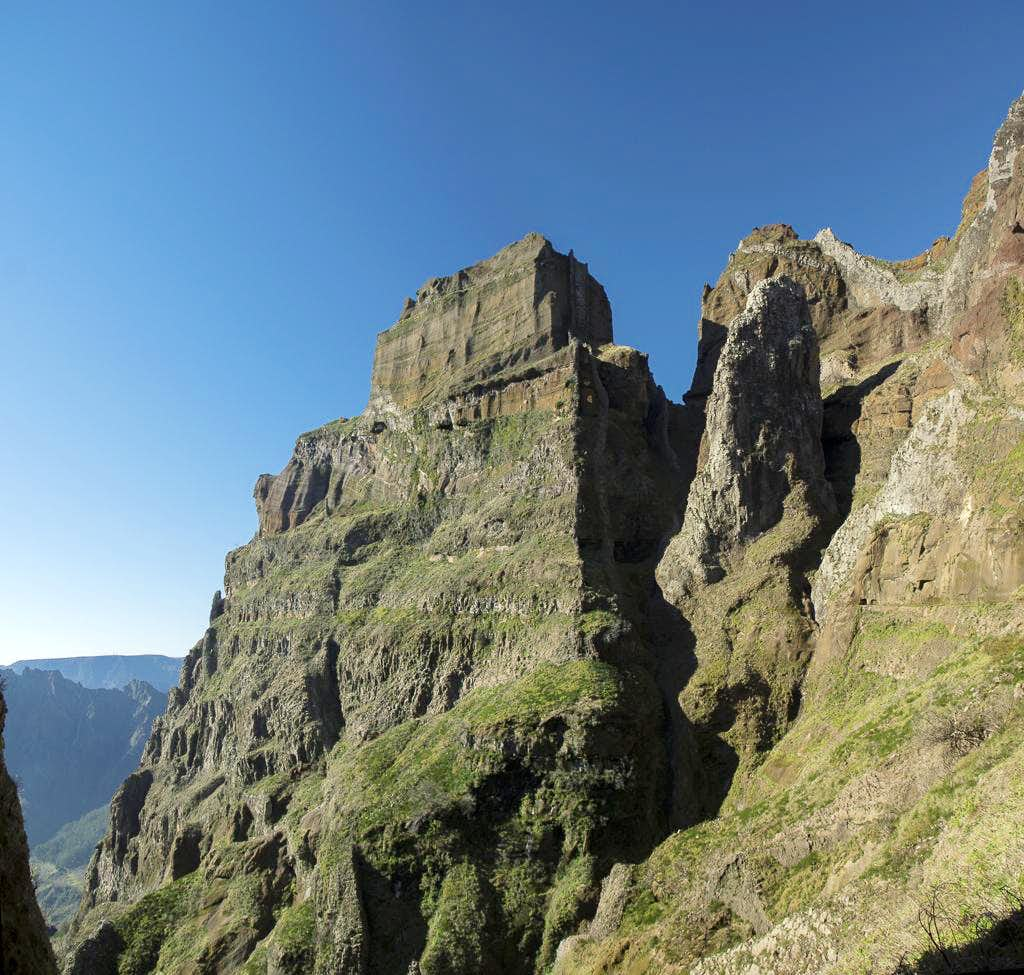 Panoramic Scramble from Pico Arieiro