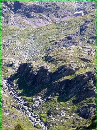 The Hugo-Gerbers-hut seen...