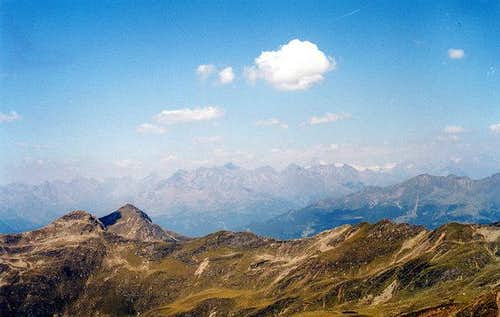View to the Grossglockner...