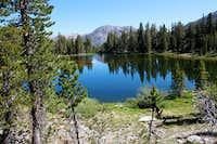 beautiful lake and reflection