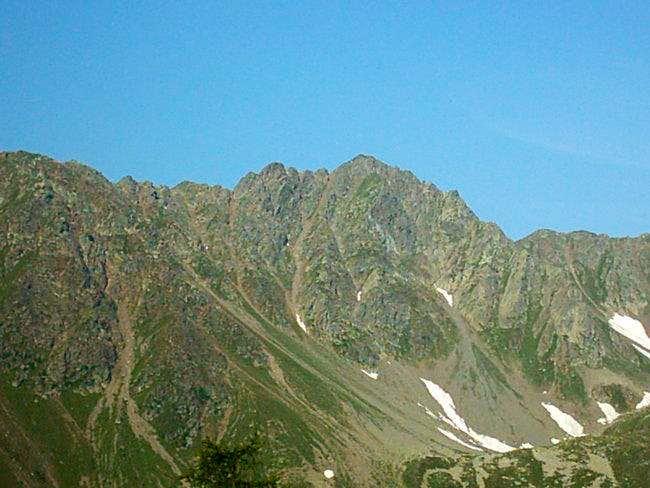 The Grakofel 2551m. north face