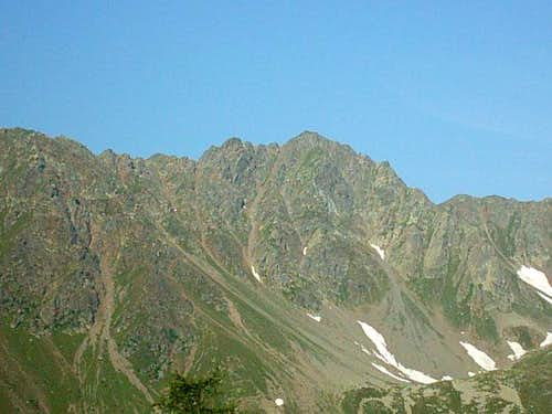 The Grakofel 2551m. north face