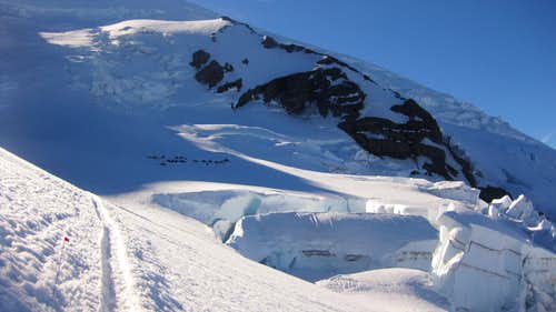 Mt Rainier: Ingraham Glacier