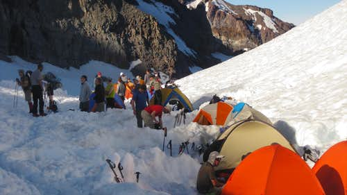 Mt Rainier: Camp Muir