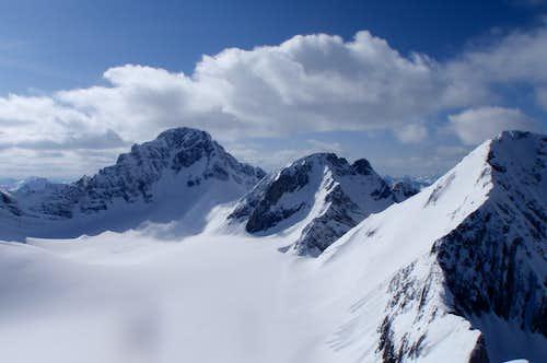 Haig Glacier Peaks