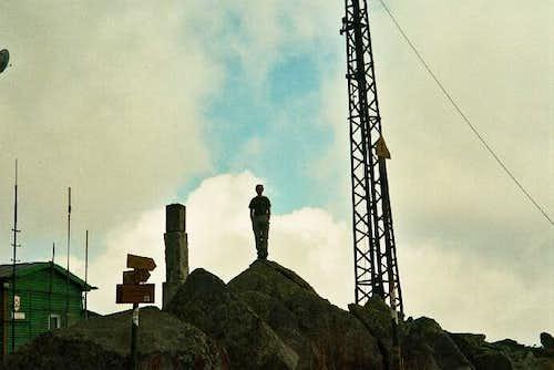 Nikolas in Cherni Vrah 2290m....