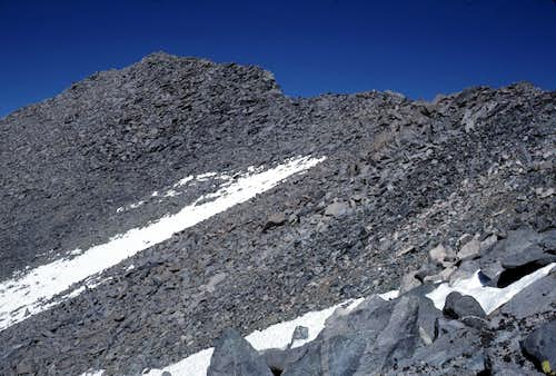 West Ridge of Kearsarge Peak