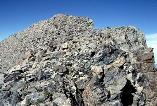 Summit Ridge of Kearsarge Peak