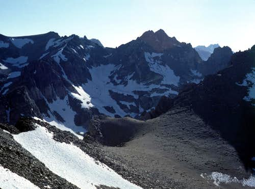 Dragon Peak from Kearsarge Peak