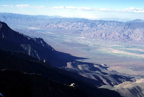 Owens Valley from Kearsarge Peak