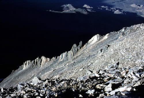 Northwest Slope of Kearsarge Peak