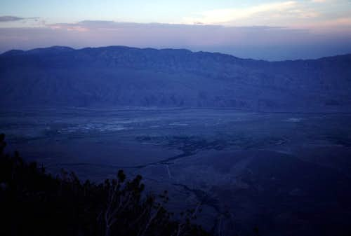 Owens Valley Dusk