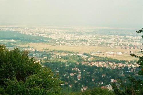 A view of Sofia city, Photo...