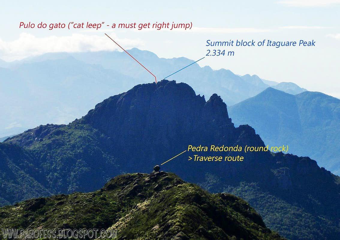 Itaguaré Peak - info image