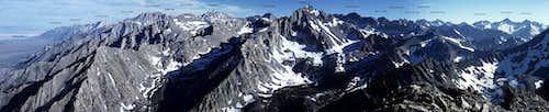 Kearsarge Peak Pano