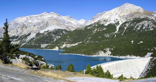 The Cancano lakes