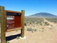 Ute Mountain Sign