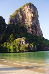 Thaiwand wall from Railay...