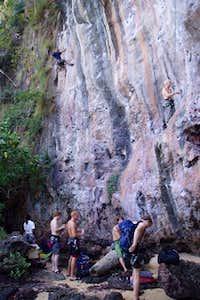 Climbers at Maui Thai (Thai...