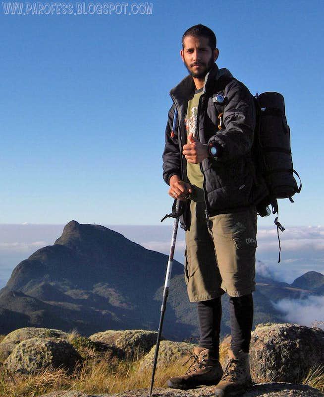 Camapuan Peak summit