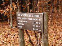 Weathersfield Trailhead