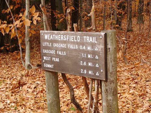 Weathersfield Trailhead