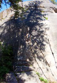 Twin Cracks, 8 Mile Rock