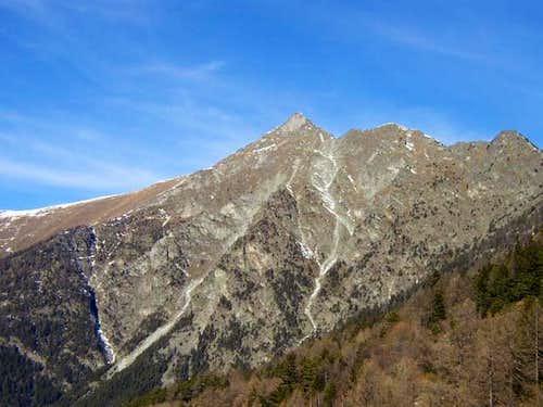 Zerbion from Col de Joux. 7...