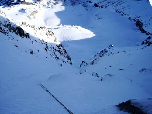Looking down the Gully; the...