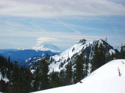 Distant Mt. Adams