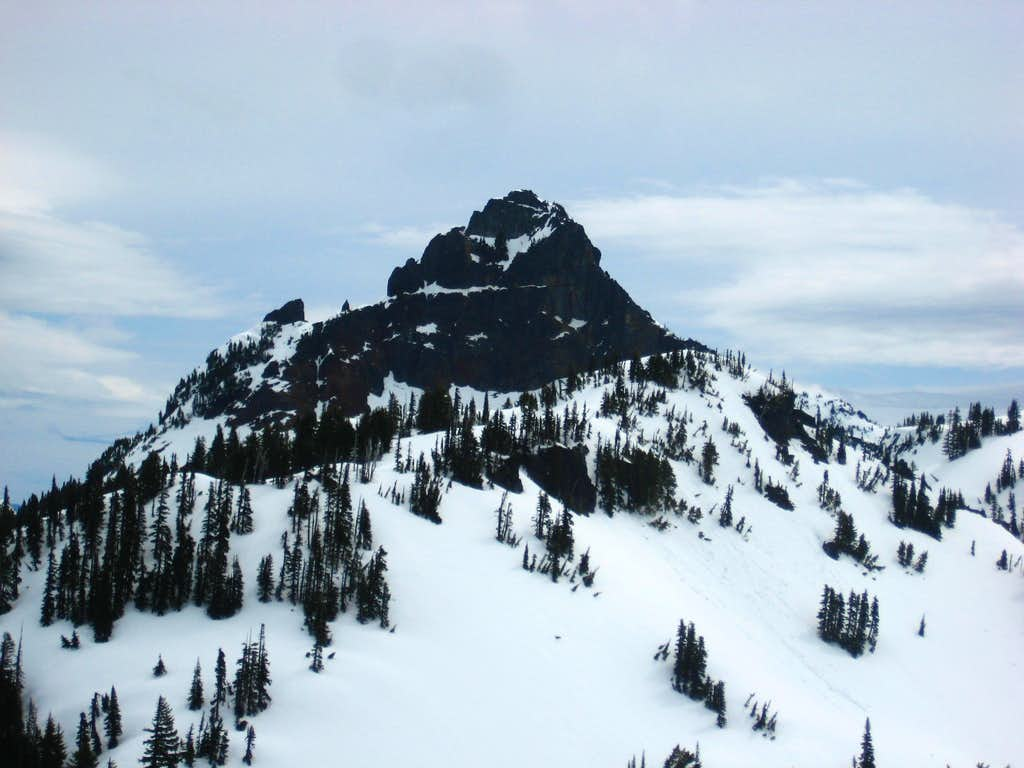 Pinnacle Peak from Lane