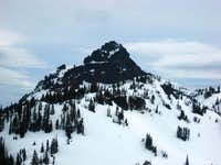 Pinnacle Peak from Lane