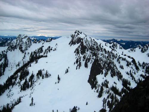 View from Lane Peak