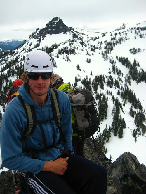Me on the summit of Lane Peak
