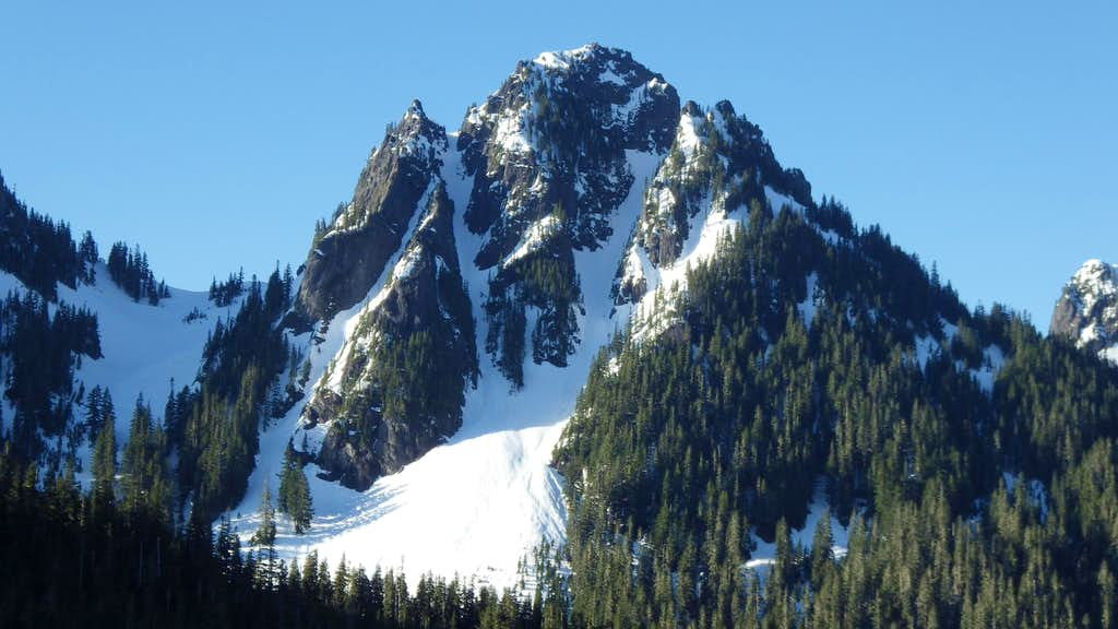 Lane Peak from the road