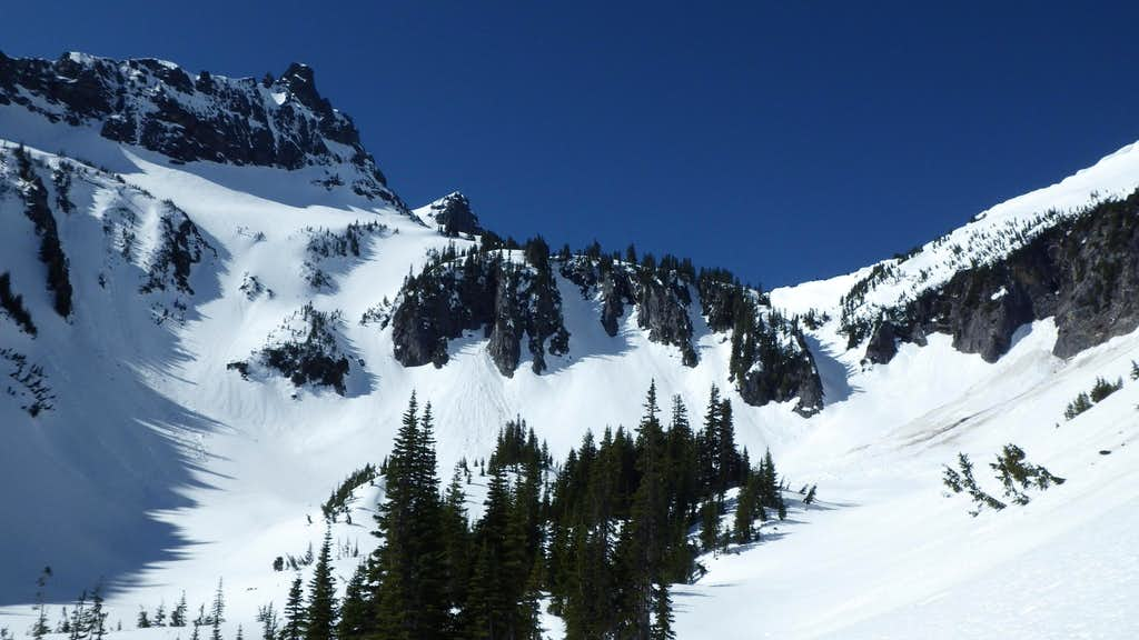 View from Snow Lake