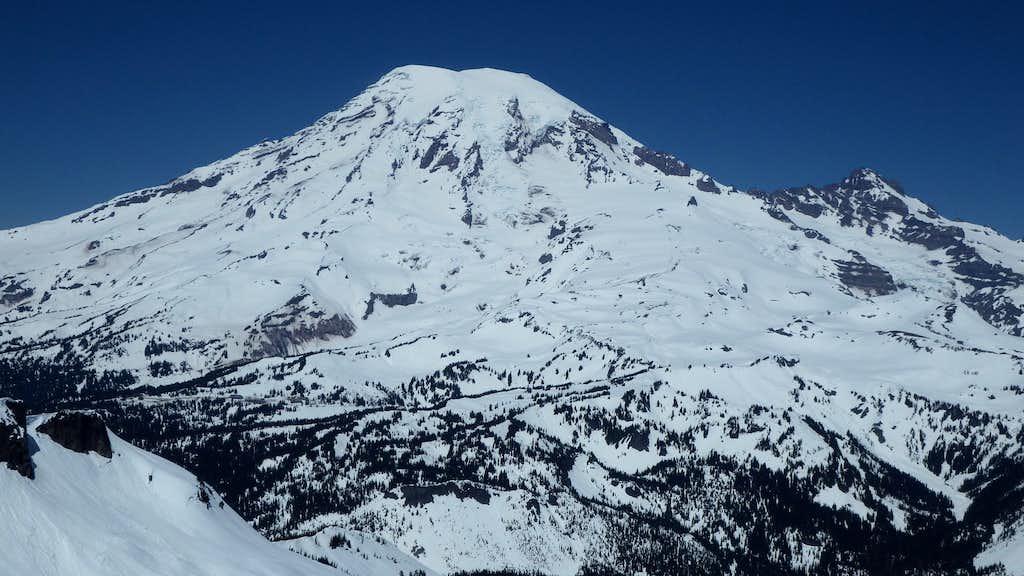 Mount Rainier from the summit