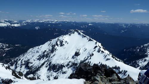 Stevens Peak from the summit
