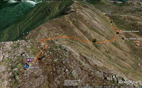 Trail sattelite view 2