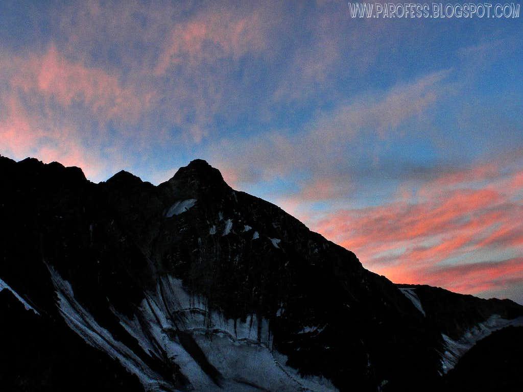 Cerro Rincon by nightfall