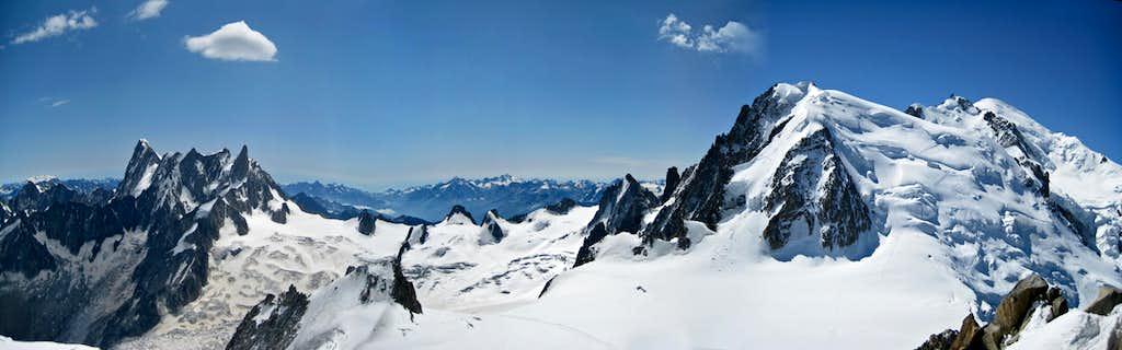 Rochefort  Ridge - Tour Ronde - Grand Capucin - Mont Blanc du Tacul - Mont Blanc
