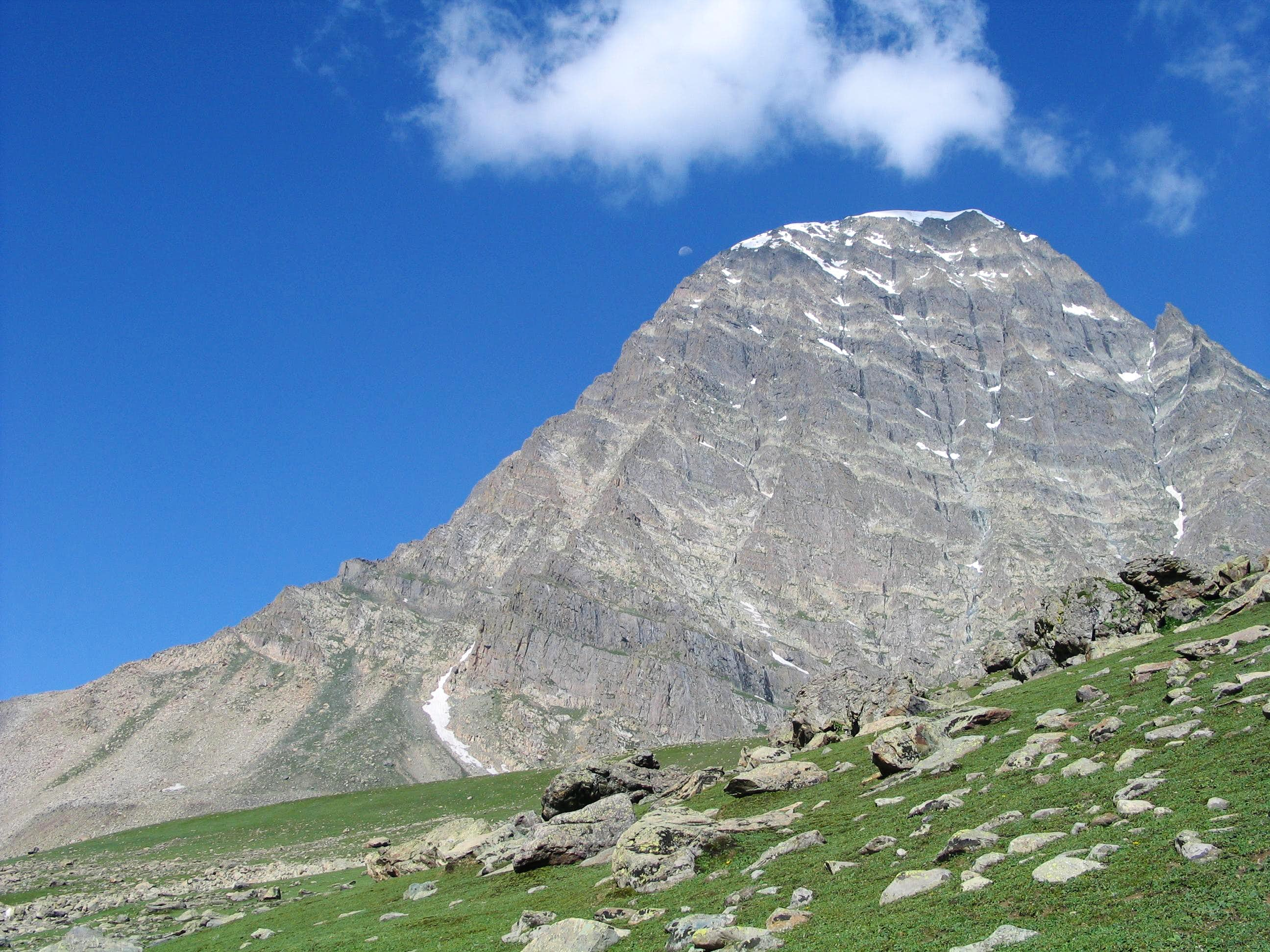Harmukh (16,870 feet) near village Naranag, Jammu & Kashmir, India