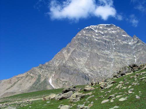 Harmukh (16,870 feet) near village Naranag, Jammu & Kashmir, India