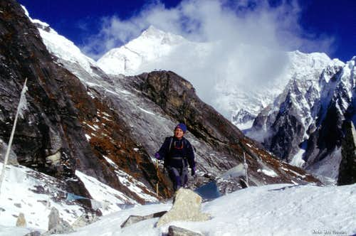 Kangchenjunga from Goecha Là